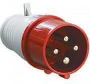 TDM Вилка силовая 4 контакта 16А 380В IP44 SQ0601-0002 (014)