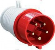 TDM Вилка силовая 5 контактов 32А 380В IP44 SQ0601-0006 (025)